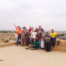 Our Tourists in Iran